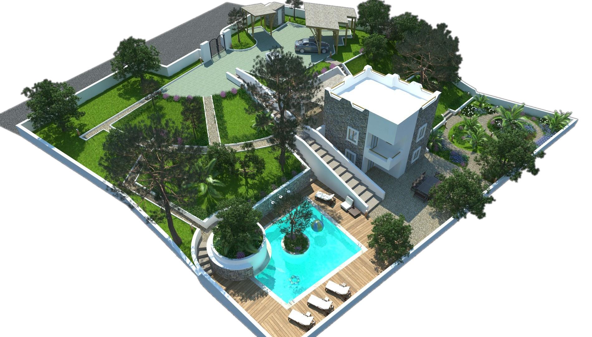Ristrutturazione Villa in Puglia - Rendering