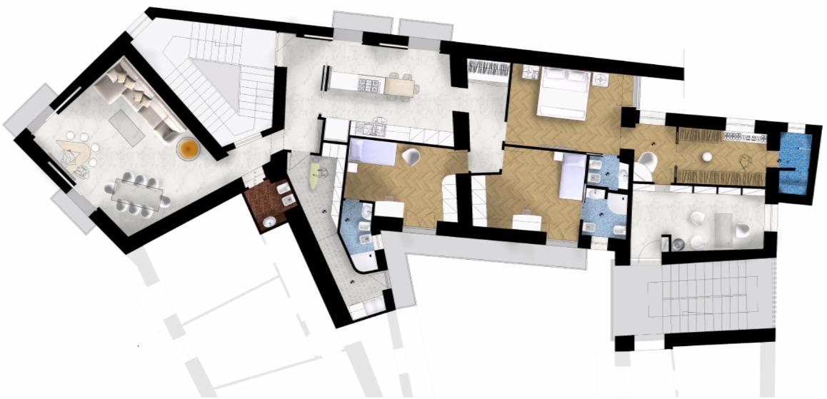 Appartamento a Napoli n. 1, pianta